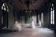 SPIN SPIN SUGAR | CONCEPT (James Kerwin Photographic) Tags: artist british nomadic architecture fineart history photographer travel model spin august 2018 germany three exposures shoot idea jameskerwin abandoned building castle long exposure concepts photographic tripod green wedding dress designs lostfound