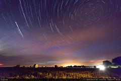 Circumpolaire 2 (Ludtz) Tags: ludtz canon canoneos5dmkiii 5dmkiii bretagne breizh brittany bzh pennarbed finistère 29 nuit night circumpolaire circumpolar stars startrail etoiles filédétoiles nightlights lumièrenocturne trégunc starstax champs fields blé wheat