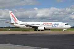 EC-LQX  B737-85P(WL)  Air Europa (n707pm) Tags: eclqx boeing 737 737800 737wl airport airline airplane aircraft einn snn coclare ireland aireuropa 25082018 shannonairport cn36589 aea rineanna