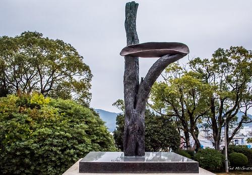 2019 - Japan - Nagasaki - Peace Park Tree of Life