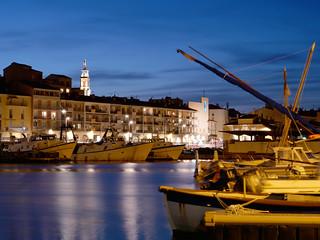 Lumières sur le port de plaisance, Sète