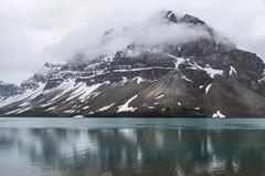 Bow Lake, Banff National Park (benereshefsky) Tags: banff banffnationalpark canada alberta bowlake lake mountains snow clouds turquoise landscape nature naturalbeauty travel