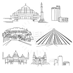 Batam famous architecture outlines (Hebstreits) Tags: architecture balikpapam bandung batam bekasi building city cityscape contour design destination down downtown emblem exterior front history horizon horizontal house illustration indonesia indonesian jakarta landmark landscape makassar manado medan metropolis modern old outlook panorama scraper semarang shadow silhouette skyline skyscraper structure surabaya symbol tourism tourist tower town travel urban view