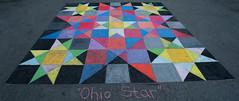 Ohio Star (wwimble) Tags: chalktheblock streetart pastels ohiostar quilt rebeccaoneill 2017