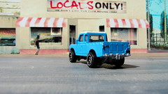 Hot Wheels HW HOT TRUCKS Land Rover Series III Pickup 2018 : Diorama Grand Theft Auto San Andreas Game Blueberry County Locals Only Backdrop Print Out - 12 Of 18 (Kelvin64) Tags: hot wheels hw trucks land rover series iii pickup 2018 diorama grand theft auto san andreas game blueberry county locals only backdrop print out
