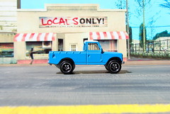 Hot Wheels HW HOT TRUCKS Land Rover Series III Pickup 2018 : Diorama Grand Theft Auto San Andreas Game Blueberry County Locals Only Backdrop Print Out - 17 Of 18 (Kelvin64) Tags: hot wheels hw trucks land rover series iii pickup 2018 diorama grand theft auto san andreas game blueberry county locals only backdrop print out