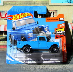 Hot Wheels HW HOT TRUCKS Land Rover Series III Pickup 2018 : Diorama Grand Theft Auto San Andreas Game Blueberry County Locals Only Backdrop Print Out - 1 Of 18 (Kelvin64) Tags: hot wheels hw trucks land rover series iii pickup 2018 diorama grand theft auto san andreas game blueberry county locals only backdrop print out