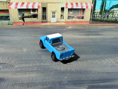 Hot Wheels HW HOT TRUCKS Land Rover Series III Pickup 2018 : Diorama Grand Theft Auto San Andreas Game Blueberry County Locals Only Backdrop Print Out - 8 Of 18 (Kelvin64) Tags: hot wheels hw trucks land rover series iii pickup 2018 diorama grand theft auto san andreas game blueberry county locals only backdrop print out