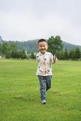 Running at Tomamu (Yang Yu's Album) Tags: japan hokkaido 北海道 儿子 dudu tomamu chenyang hokkaidō 星野度假村 yūfutsudistrict