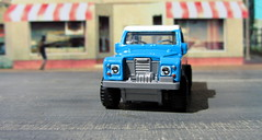 Hot Wheels HW HOT TRUCKS Land Rover Series III Pickup 2018 : Diorama Grand Theft Auto San Andreas Game Blueberry County Locals Only Backdrop Print Out - 10 Of 18 (Kelvin64) Tags: hot wheels hw trucks land rover series iii pickup 2018 diorama grand theft auto san andreas game blueberry county locals only backdrop print out