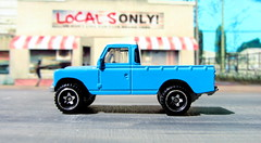 Hot Wheels HW HOT TRUCKS Land Rover Series III Pickup 2018 : Diorama Grand Theft Auto San Andreas Game Blueberry County Locals Only Backdrop Print Out - 14 Of 18 (Kelvin64) Tags: hot wheels hw trucks land rover series iii pickup 2018 diorama grand theft auto san andreas game blueberry county locals only backdrop print out