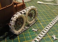 dsc08036b (enrico_crespi) Tags: modellismo ford modelt e63 papermodel snowmobile