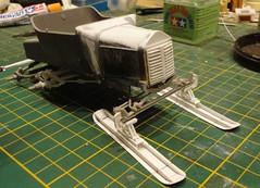 dsc08027 (enrico_crespi) Tags: modellismo ford modelt e63 papermodel snowmobile
