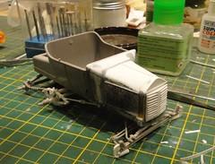 dsc08013 (enrico_crespi) Tags: modellismo ford modelt e63 papermodel snowmobile
