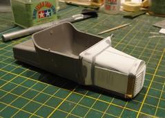 dsc07999 (enrico_crespi) Tags: modellismo ford modelt e63 papermodel snowmobile
