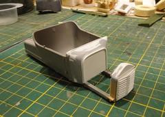 dsc07996 (enrico_crespi) Tags: modellismo ford modelt e63 papermodel snowmobile