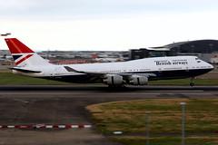 British Airways | Boeing 747-400 | G-CIVB | Negus retro livery | London Heathrow (Dennis HKG) Tags: aircraft airplane airport plane planespotting oneworld canon 7d 70200 london heathrow egll lhr britishairways ba baw speedbird boeing 747 747400 boeing747 boeing747400 gcivb