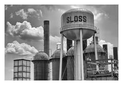 Industrial past (richieJ 11) Tags: industry slossfurnaces alabama mono blackandwhite furnace iron