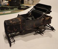 dsc08084 (enrico_crespi) Tags: modellismo ford modelt e63 papermodel snowmobile