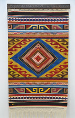 Rug Weaving Zapotec Mexico Oaxaca (Teyacapan) Tags: zapotec weavings mexico oaxaca rugs tapete museum teotitlandelvalle textiles