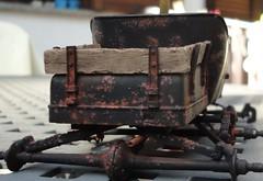 dsc08053 (enrico_crespi) Tags: modellismo ford modelt e63 papermodel snowmobile