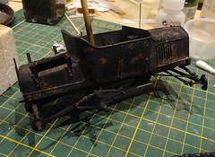 dsc08039 (enrico_crespi) Tags: modellismo ford modelt e63 papermodel snowmobile