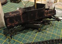 dsc08038 (enrico_crespi) Tags: modellismo ford modelt e63 papermodel snowmobile