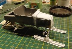 dsc08028 (enrico_crespi) Tags: modellismo ford modelt e63 papermodel snowmobile