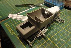 dsc08014 (enrico_crespi) Tags: modellismo ford modelt e63 papermodel snowmobile