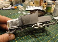 dsc08006 (enrico_crespi) Tags: modellismo ford modelt e63 papermodel snowmobile