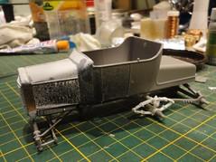 dsc08004 (enrico_crespi) Tags: modellismo ford modelt e63 papermodel snowmobile
