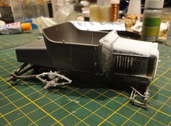 dsc08003 (enrico_crespi) Tags: modellismo ford modelt e63 papermodel snowmobile