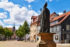 Duderstadt (r.wacknitz) Tags: duderstadt landkreisgöttingen eichsfeld harz niedersachsen altstadt rathaus history tamron18200 nikond5600 luminar18 sundaylights