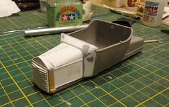 dsc08000 (enrico_crespi) Tags: modellismo ford modelt e63 papermodel snowmobile