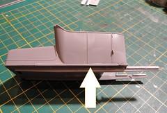 dsc07754 (enrico_crespi) Tags: modellismo ford modelt e63 papermodel snowmobile