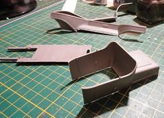 dsc07752 (enrico_crespi) Tags: modellismo ford modelt e63 papermodel snowmobile