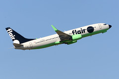 CYVR - Flair Airlines B737-800 C-FFLA (CKwok Photography) Tags: yvr cyvr flairairlines b737 cffla