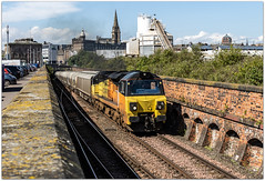 You again... (Blaydon52C) Tags: colas 70812 class70 railfreight dundee scotland scotrail freight 6a65 oxwellmains aberdeen cement camperdown tunnel docks tayside tay railway rail railways railroad trains train transport lo locomotive locomotives bmu dmu