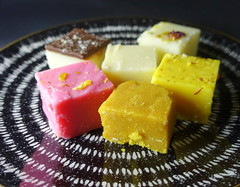 Assorted Burfi (Tony Worrall) Tags: images photos photograff things uk england food foodie grub eat eaten taste tasty cook cooked iatethis foodporn foodpictures picturesoffood dish dishes menu plate plated made ingrediants nice flavour foodophile x yummy make tasted meal nutritional freshtaste foodstuff cuisine nourishment nutriments provisions ration refreshment store sustenance fare foodstuffs meals snacks bites chow cookery diet eatable fodder ilobsterit instagram forsale sell buy cost stock bafi burfi asain sweets pudding shape blocks sugar indian colourful