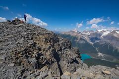 Walcott Peak Summit (Darren Umbsaar) Tags: mountain mountains mount peak walcott burgess yoho bc british columbia canada canadian rockies takakkaw lake emerald summit scramble vaux