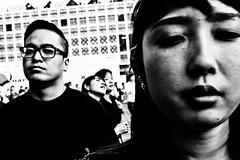 Close Up Shibuya (Victor Borst) Tags: street streetphotography streetlife reallife real realpeople asian asia asians faces fa candid face mono monotone monochrome mankind portrait portraits travel travelling trip traveling urban urbanroots urbanjungle blackandwhite bw mo close closeup japan japanese tokyo shibuyacrossing fuji fujifilm xpro2 expression expressions happyplanet asiafavorites