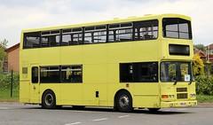 Olympian / Alexander (Belfast) R95 LHK has also been active with Bubble/Pendle Travel seen working Blackburn with Darwen schools in the last week of the 2018/19 school term. (Gobbiner) Tags: alexanderbelfast r95lhk blackburn olympian volvo dublinbus 97d373 transdev 2004 yorkpullman pendlebubbletravel