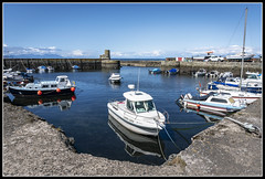 220/365 Dunure Harbour on a lovely summer's day! (B Ryder) Tags: sony a6300 dunure harbour ayr south ayrshire scotland boats sea sky clouds outlander