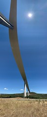 Architectural Bridge (Simon Caunt) Tags: bridge architecture architectural normanfoster a75 millau sirnormanfoster e11 millauviaduct fosterpartners tarngorge motorwaybridges pontdutarn france labellefrance francophotophile ©️simoncaunt