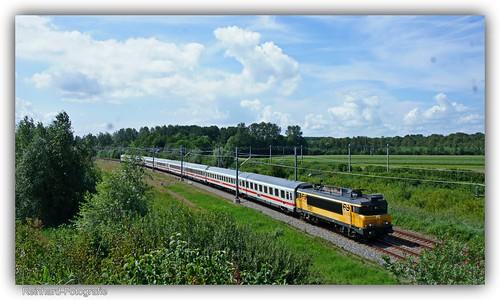 """Nederlandse Spoorwegen 1761 """" IC-Berlijn"""" Lelystad-Oostervaart (NL)"""