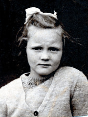 IMG_0003 Geoff Spafford RIP old B&W Family Photos. Sandra aged 7 1/2 years old (photographer695) Tags: geoff spafford rip old bw family photos sandra aged 7 12 years