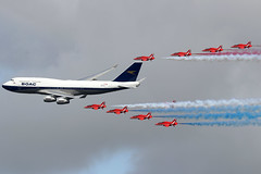 G-BYGC_01 (GH@BHD) Tags: gbygc boeing 747 744 747400 b747 b744 747436 ba baw britishairways boac retrolivery rafredarrows riat2019 raffairford fairford specialcolours logojet jumbo speedbird aircraft aviation airliner redarrows riat royalinternationalairtattoo hawk bae britishaerospace