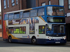 Stagecoach TransBus Trident (TransBus ALX400) 18151 PX04 DPE (Alex S. Transport Photography) Tags: bus outdoor road vehicle alx400 alexanderalx400 dennistrident transbustrident trident transbusalx400 route14 stagecoach stagecoachmidlandred stagecoachmidlands 18151 px04dpe