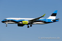 YL-CSJ (Airlinerphotos.de) Tags: a220300 ams airbaltic