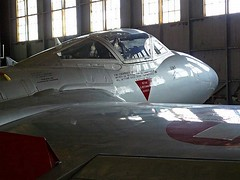 "De Havilland Vampire 10 • <a style=""font-size:0.8em;"" href=""http://www.flickr.com/photos/81723459@N04/48489734207/"" target=""_blank"">View on Flickr</a>"